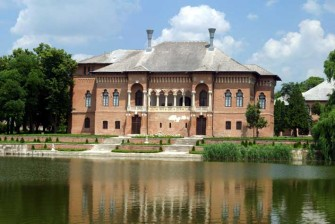 Nature and culture around Bucharest:  Mogosoaia Snagov Monastery and Village Museum