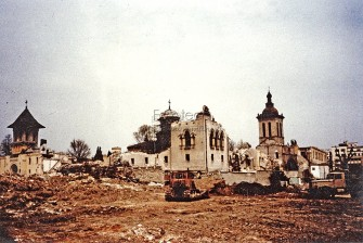 Destroyed Bucharest - Vacaresti Monastery