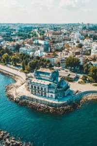 Constanța- the town of the coastal Black Sea
