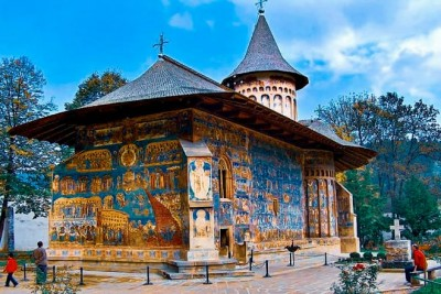 Voronet Monastery or the Sistine Chapel of the East